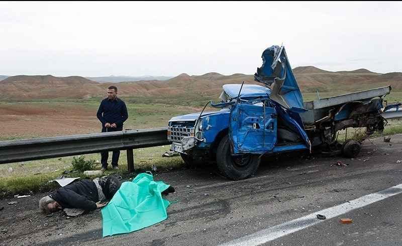 تصادف رانندگی در ایلام منجر به مرگ ۲ تبعه پاکستانی شد