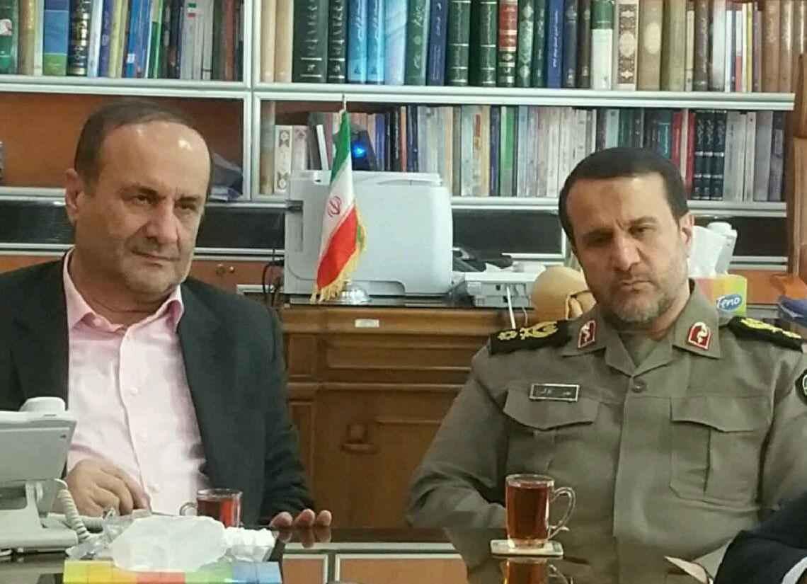 تقدیر و تشکر سردار کارگر؛ رئیس بنیاد حفظ آثار و نشر ارزشهای دفاع مقدس از استاندار ایلام