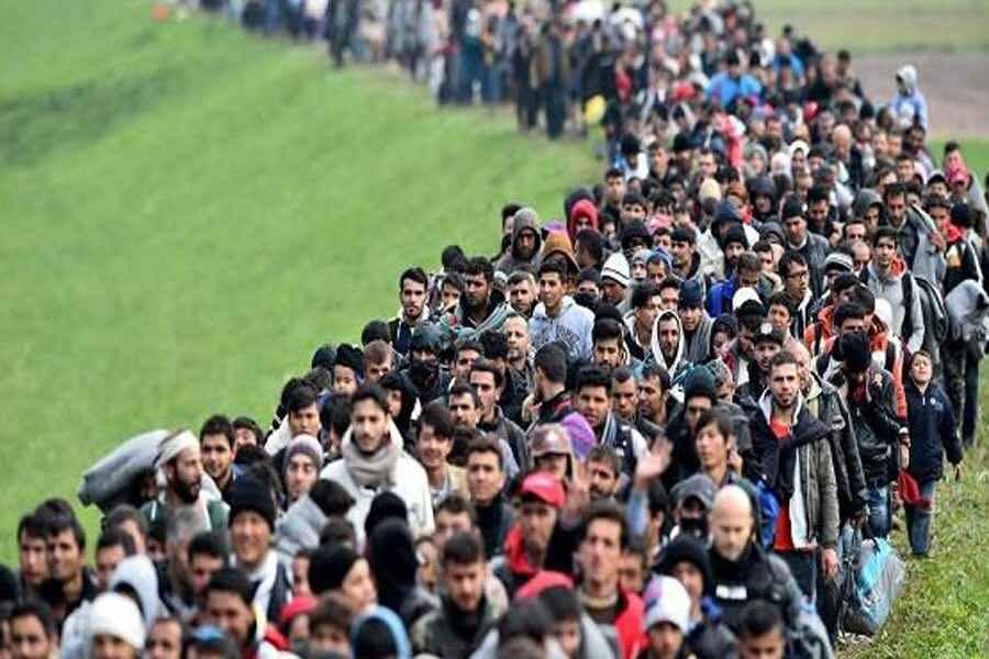 دهها هزار نفر از کردستان عراق مهاجرت کردند