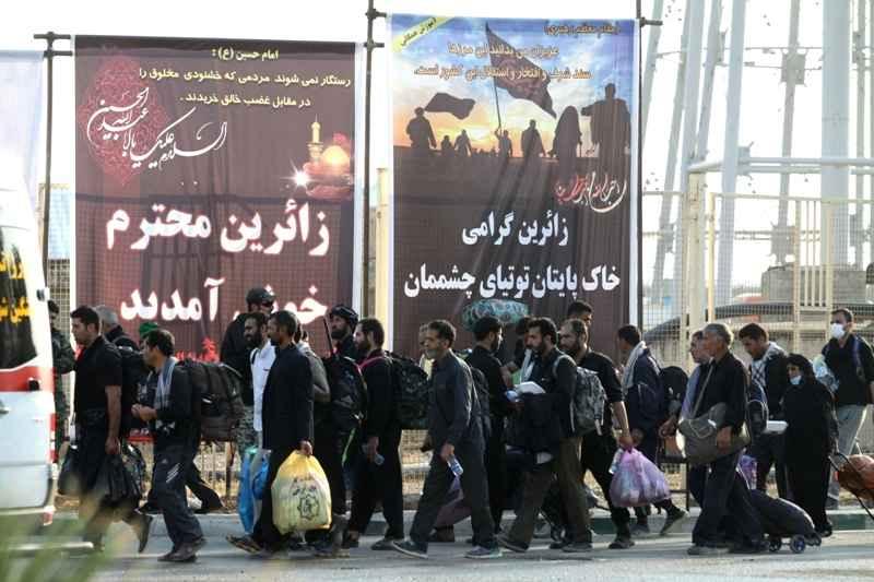 ۸۴۱ هزار زائر از مرز مهران تردد کردند