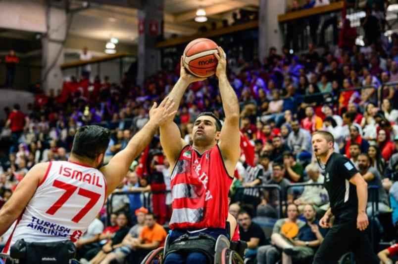تیم بسکتبال با ویلچر ایران به نیمه نهایی مسابقات جهانی رسید