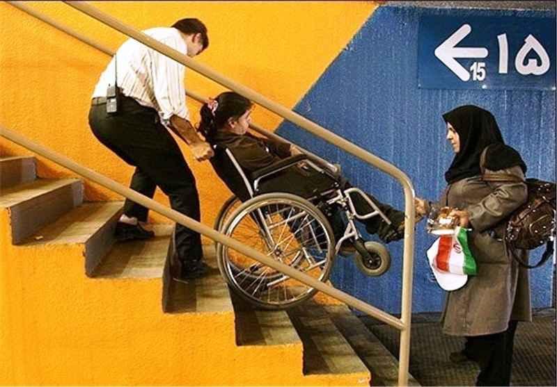 قبایی که با قامت معلولان ناسازاست