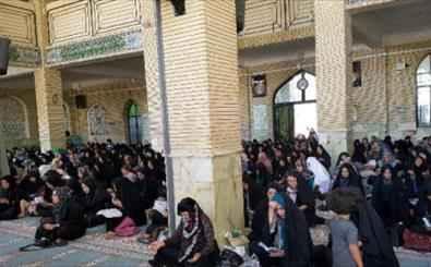 برگزاری مراسم دعای پرفیض عرفه در مسجد مقدس صاحب الزمان(عج) شهر ایلام