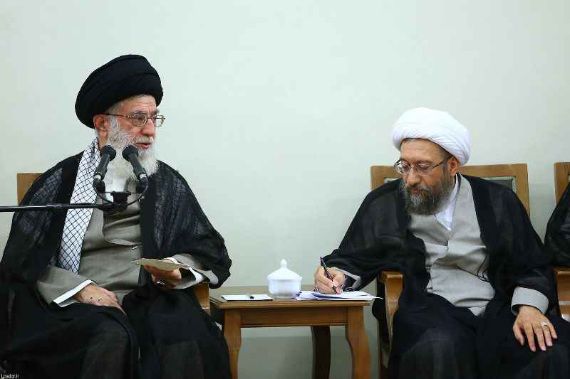 آیت الله آملی لاریجانی رییس مجمع تشخیص و عضو فقهای شورای نگهبان شد