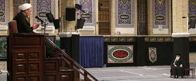 مراسم عزاداری شهادت حضرت فاطمه(س) در حسینیه امام خمینی(ره) برگزار شد