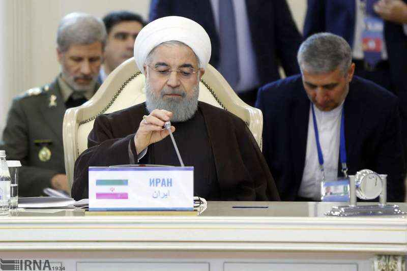 روحانی: هیچ نیروی خارجی نمیتواند در دریای خزر رفت و آمد کند