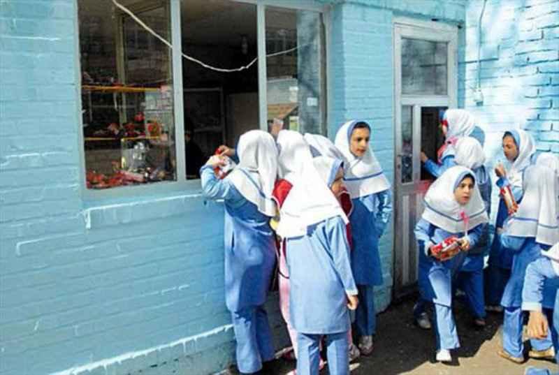 مدارس مواد غذایی مجاز را در بوفه ها عرضه کنند
