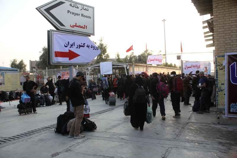 ورود اتباع عراقی به ایران از مرز مهران افزایش یافت