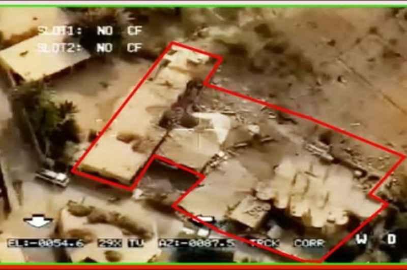 تصاویر اصابت موشک های سپاه به مقر تروریست ها منتشر شد