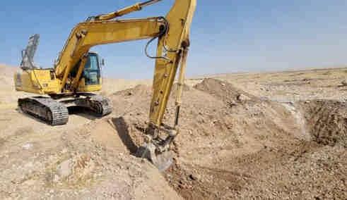 عملیات بهسازی راه دسترسی جاذبه گردشگری چشمه قیردهلران ایلام آغاز شد
