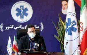 ۱۵ نیروی سازمان اورژانس کشور قربانی کرونا شدهاند