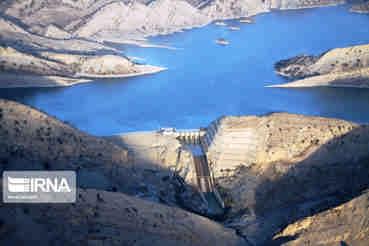 حجم آب سدهای ایلام ۲۰۰ میلیون متر مکعب است
