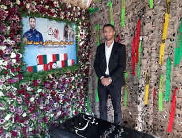 اهدای مدال طلای «گرایی» به شهید گمنام؛ از شهید معجزه دیدم