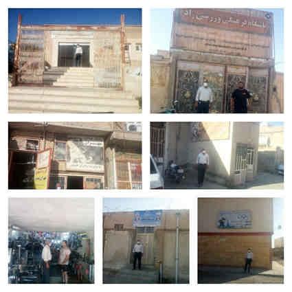 بازدید میدانی از باشگاه های خصوصی واماکن دولتی سطح شهرستان مهران